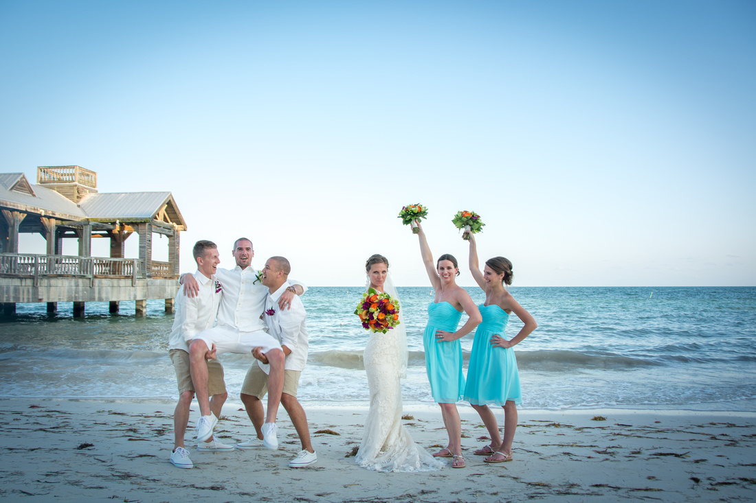 Meaghan And Cory Corythe Reach Resort Wedding Key West